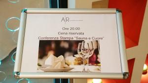 Cena Conferenza Stampa Aquardens
